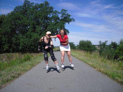 Zájezdy na inlinech po Braniborsku s CK TRIP