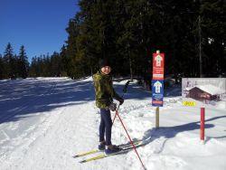 S Papagenem na běžky aneb nejvyhlídkovější alpská běžecká trať