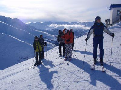 21.-26.2. 2015   Švýcarská Skiaréna Silvretta + tyrolský Ischgl