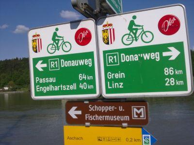 Podunajská cyklostezka z Pasova