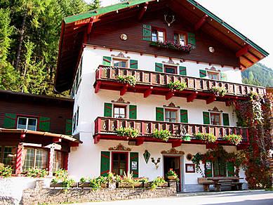 Ubytování v údolí Stubaital