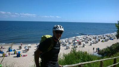 Baltské moře - na kole po cyklostezkách mezi dunami a lázeňskými letovisky ostrova Usedom.