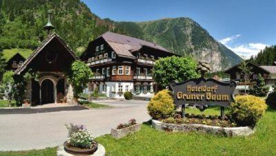 4**** hotel Zelený strom v lázeňském Bad Gastein