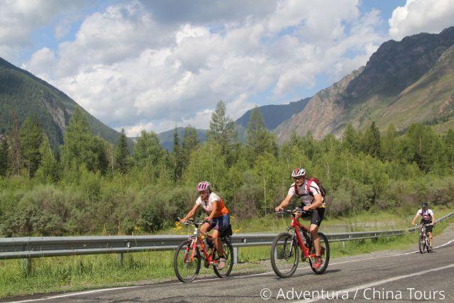 Altaj na kole