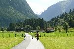Pestrý týden v srdci Alp