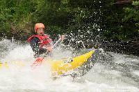 Letní kanoe v Alpách