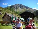 Odpočinek po náročném výšlapu na Ursprugalm (1610 m)