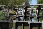 Canal du Midi na lodi a na kole