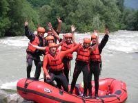 Rafting a ferrata v Dolomitech