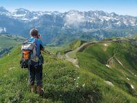 Švýcarská dáma Jungfrau s kartou   NOVINKA!
