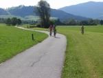 Alpy podél řeky Enns