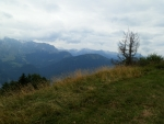 Třínški vrh - výhled na hory