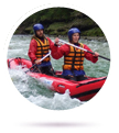Vodn turistika, rafting, kolo a lo s prvodcem