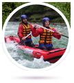 Vodní turistika, rafting, kolo a loď s průvodcem