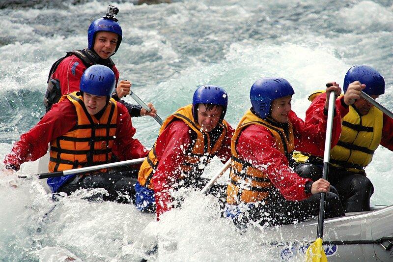Rafting Ck trip