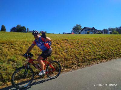 V červnu na kolech do Německa