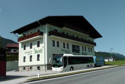 Pension Heidi s vlastní dopravou!