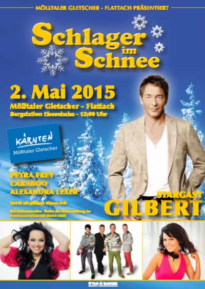 ŠLÁGR na ledovci Mölltal 30.4.-3.5.2015