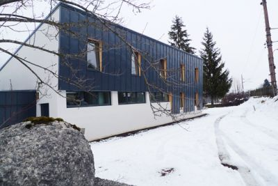 Twinhouse v obci Pruggern (oblast Schladming/Dachstein)