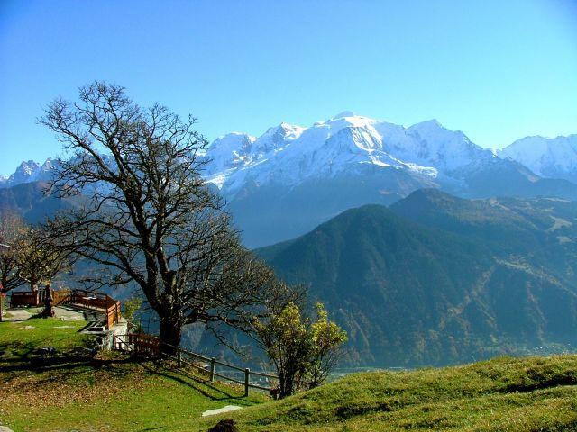 Ďábelské Švýcarsko - Mont Blanc  s kartou