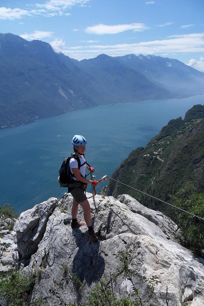 Via ferraty nad Lago di Garda