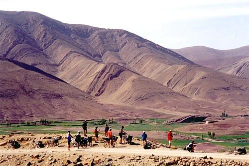 Maroko na kole