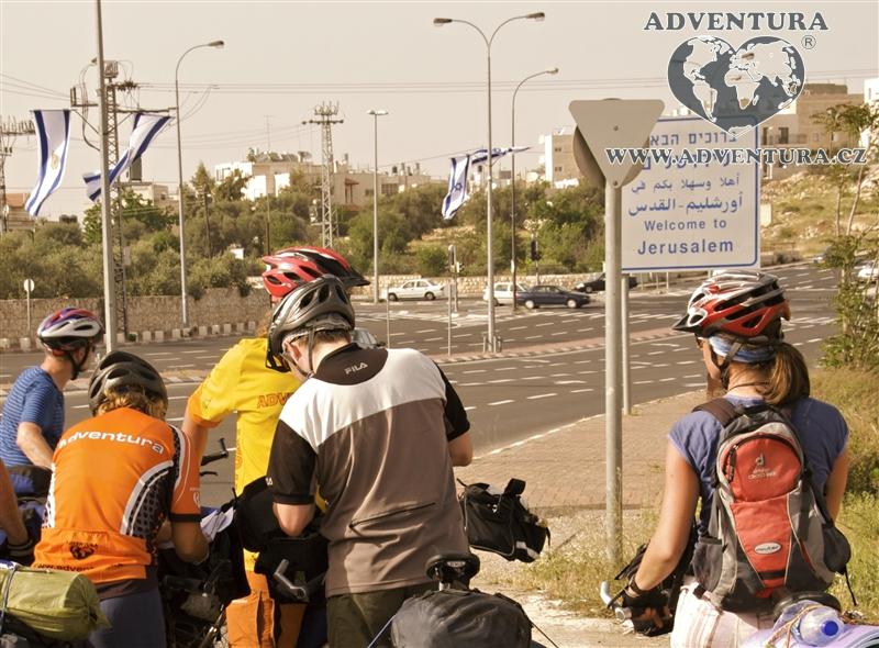Izrael a Palestina na kole
