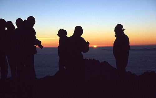 Silvestr pod Kilimandžárem