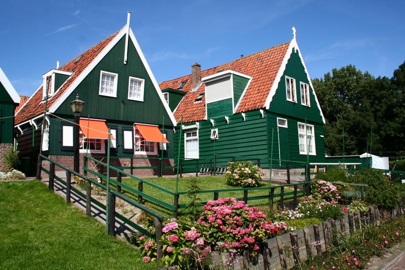 Holandsko na lodi a na kole - SEVER