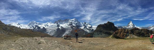 Pohodový týden v Alpách - Termály, ledovec Aletsch a Matterhorn s kartou