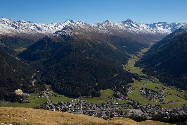 Pohodový týden v Alpách - Davos - švýcarský klenot s kartou