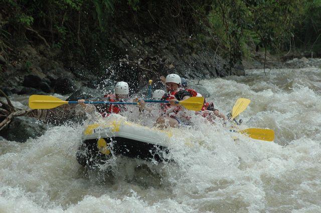 Rafting na Salze a Steyeru