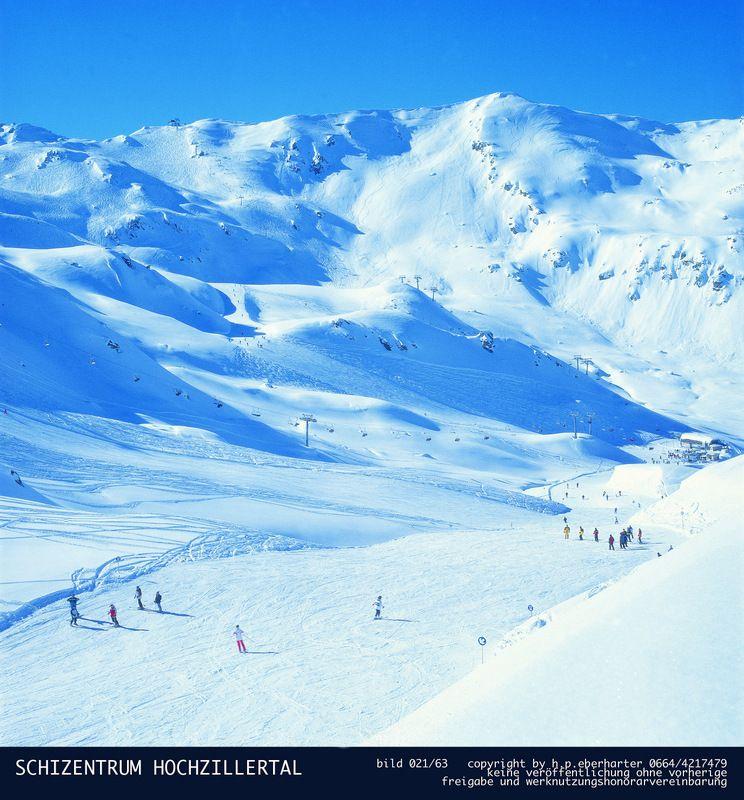 Hintertux-ledová koruna Zillertalu