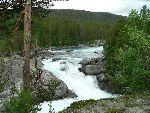 Norsko na kole i na raftu